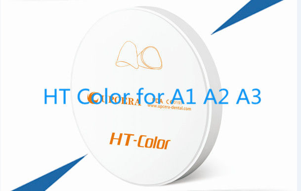 1100Mpa Zirconia Based Ceramics High Color Translucent with A1 A2 A3